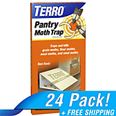 TERRO® Pantry Moth Traps - 24 Pack