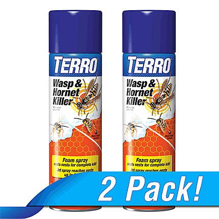 TERRO® Wasp & Hornet Killer - 2 Pack