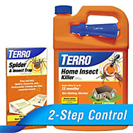TERRO® Home Insect Killer Spray & Traps Combo