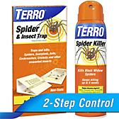 TERRO® Spider Killer Spray & Traps Combo