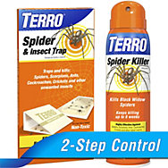 TERRO® Spider Killer Spray & Traps Combo
