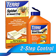 TERRO® Multi-Insect Bait & Insect Traps Combo