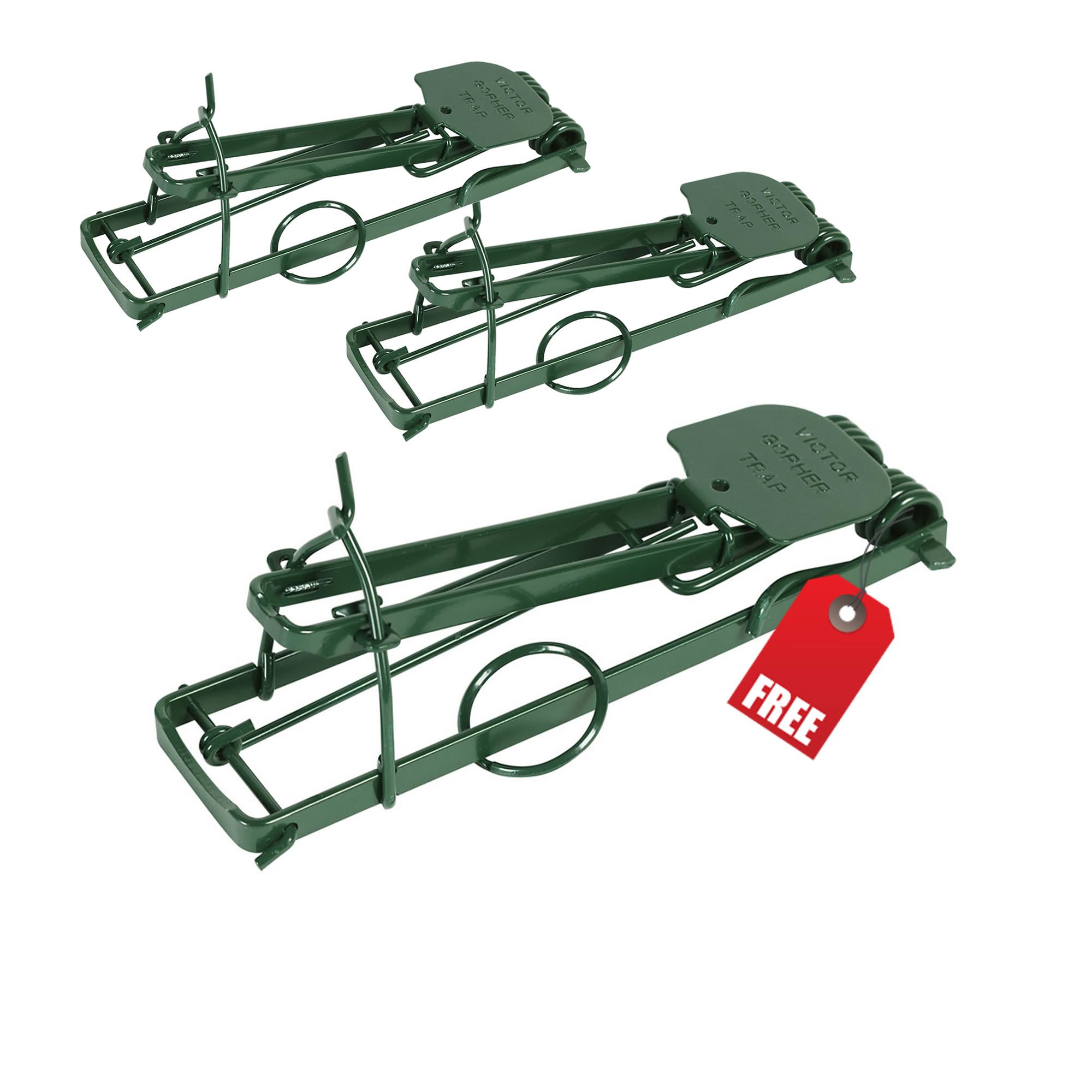Victor® Gopher Trap, Model # B0615-3