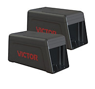Victor® Electronic Rat Trap - FREE Batteries - 2 Traps