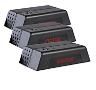 Victor® Electronic Mouse Trap - FREE Batteries - 3 Traps