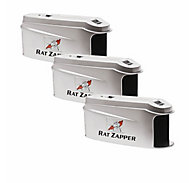 Rat Zapper® Ultra Rat Trap - 3 Traps