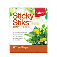 Safer's® Sticky Stiks Fungus Gnat Traps