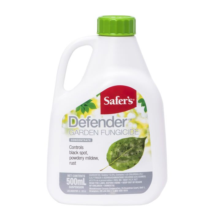 Safer's® Defender Garden Fungicide Concentrate - 500mL | #48-2079CAN |  Woodstream Brands