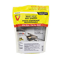 Victor® Fast-Kill® Refillable Mouse Poison Bait Station with 8 Bait Blocks