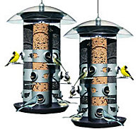 Perky-Pet® 2-in-1 Triple Tube Feeder - 2 Pack