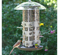 Birdscapes® 2-in-1 Triple Tube Feeder