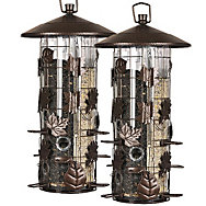 Perky-Pet® Squirrel-Be-Gone® III Feeder - 2 Pack