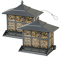 Perky-Pet® Squirrel-Be-Gone II® Feeder - 2 Pack - 12 lb Seed Capacity, Each