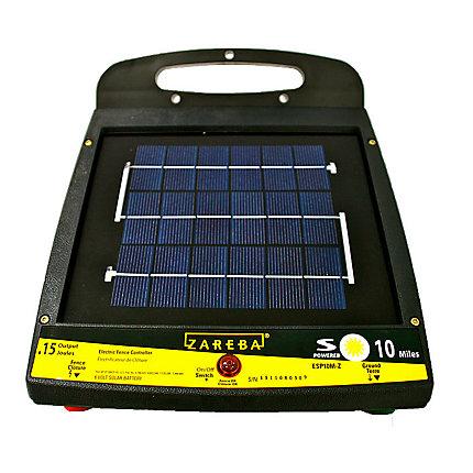 Zareba Esp10m Z 10 Mile Solar Fence Charger Zareba