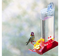 Perky-Pet® Window Mount Plastic Hummingbird Feeder - 8 oz Nectar Capacity