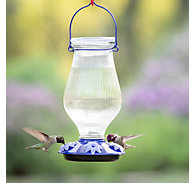 Perky-Pet® Grand Oasis Top-Fill Glass Hummingbird Feeder - 38 oz Nectar Capacity