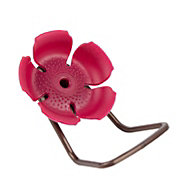 Perky-Pet® Replacement Crimson Hollyhock Flower Feeding Ports and Perches
