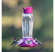 Perky-Pet® Top-Fill Hummer's Favorite Glass Hummingbird Feeder