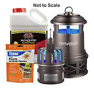 Complete Indoor & Outdoor Mosquito Control Kit