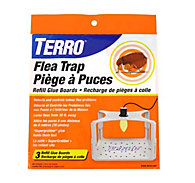TERRO® Flea Trap Refill Glue Boards – 3 Pack