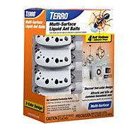 TERRO® Multi-Surface Liquid Ant Baits – 4 Discreet Bait Stations