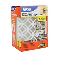 TERRO® Discreet Indoor Fly Trap Plus Lure