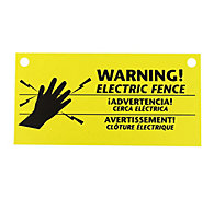 Zareba® Electric Fence Warning Signs, 3 Pack