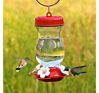 Perky-Pet® Top Fill Glass Hummingbird Feeder - 24 oz Nectar Capacity