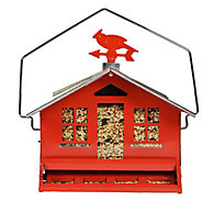 Perky-Pet® Squirrel-Be-Gone® II Country Style Wild Bird Feeder - 8 lb Seed Capacity