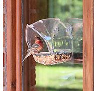 Perky-Pet® Window Feeder - 1 Cup Seed Capacity