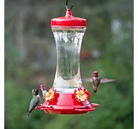 Perky-Pet® Adjustable Perch Glass Hummingbird Feeder - 20 oz Nectar Capacity