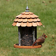 Perky-Pet® Gazebo Wood Feeder - 2 lb Seed Capacity