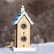 Perky-Pet® Birdie B&B Wood Bird Feeder - 2 lb Seed Capacity