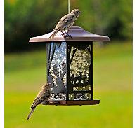 Perky-Pet® Wilderness Lantern Wild Bird Feeder - 2 lb Seed Capacity