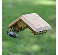 Perky-Pet® The Loft Bamboo Feeder - 2 Suet Cakes