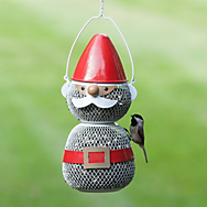 Perky-Pet® Mesh Gnome Feeder - 2 lb Seed Capacity