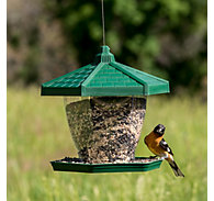 Perky-Pet® Grand Chalet Wild Bird Feeder - 4 lb Seed Capacity
