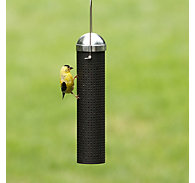 "Perky-Pet® 10"" Metal Finch Feeder - 1 lb Seed Capacity"