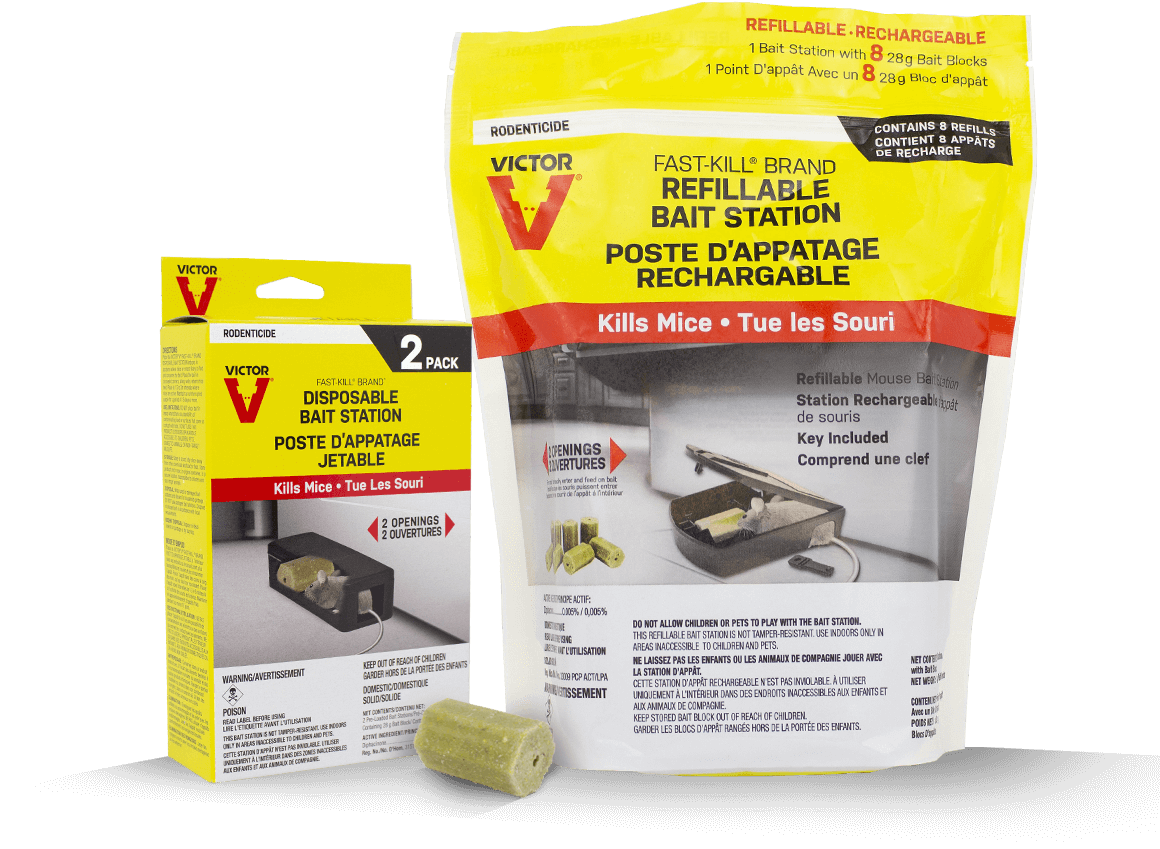Victor Fast-Kill Rodenticide Bait Stations