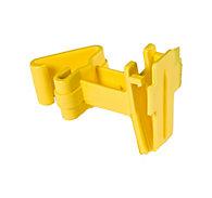 Zareba® Yellow T-Post Poly Tape Insulator