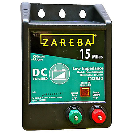 Zareba 174 15 Mile Battery Operated Low Impedance Fence
