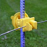 Zareba® Yellow Screw-On Insulator