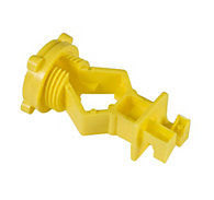 Zareba® Yellow Screw-On T-Post Insulator