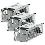 Havahart® Small 2-Door Animal Trap - 3 Pack