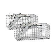 Havahart® Small 1-Door Easy Set® Trap - 2 Pack