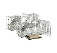 Havahart® Feral Cat Trap Rescue Kit - 2 Pack