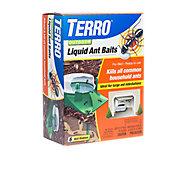 TERRO® Outdoor Liquid Ant Baits - 6 Pack