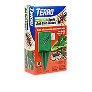 TERRO® Outdoor Liquid Ant Bait Stakes - 12 Pack