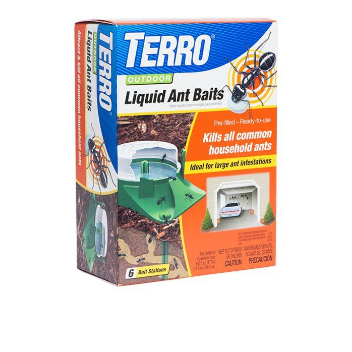 Terro Outdoor Liquid Ant Bait Stations Model T1806