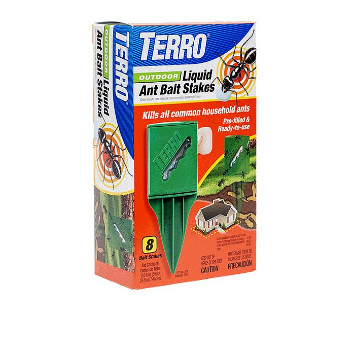 Terro Outdoor Liquid Ant Bait Stakes Protect Your Home